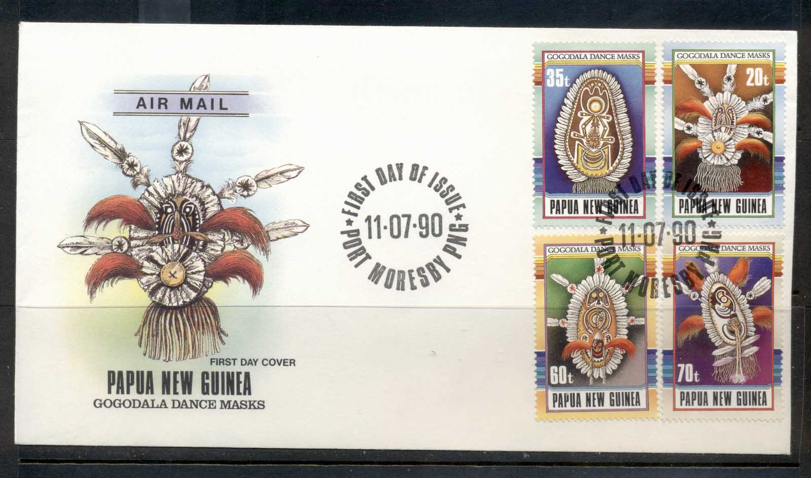 PNG 1990 Artefacts FDC