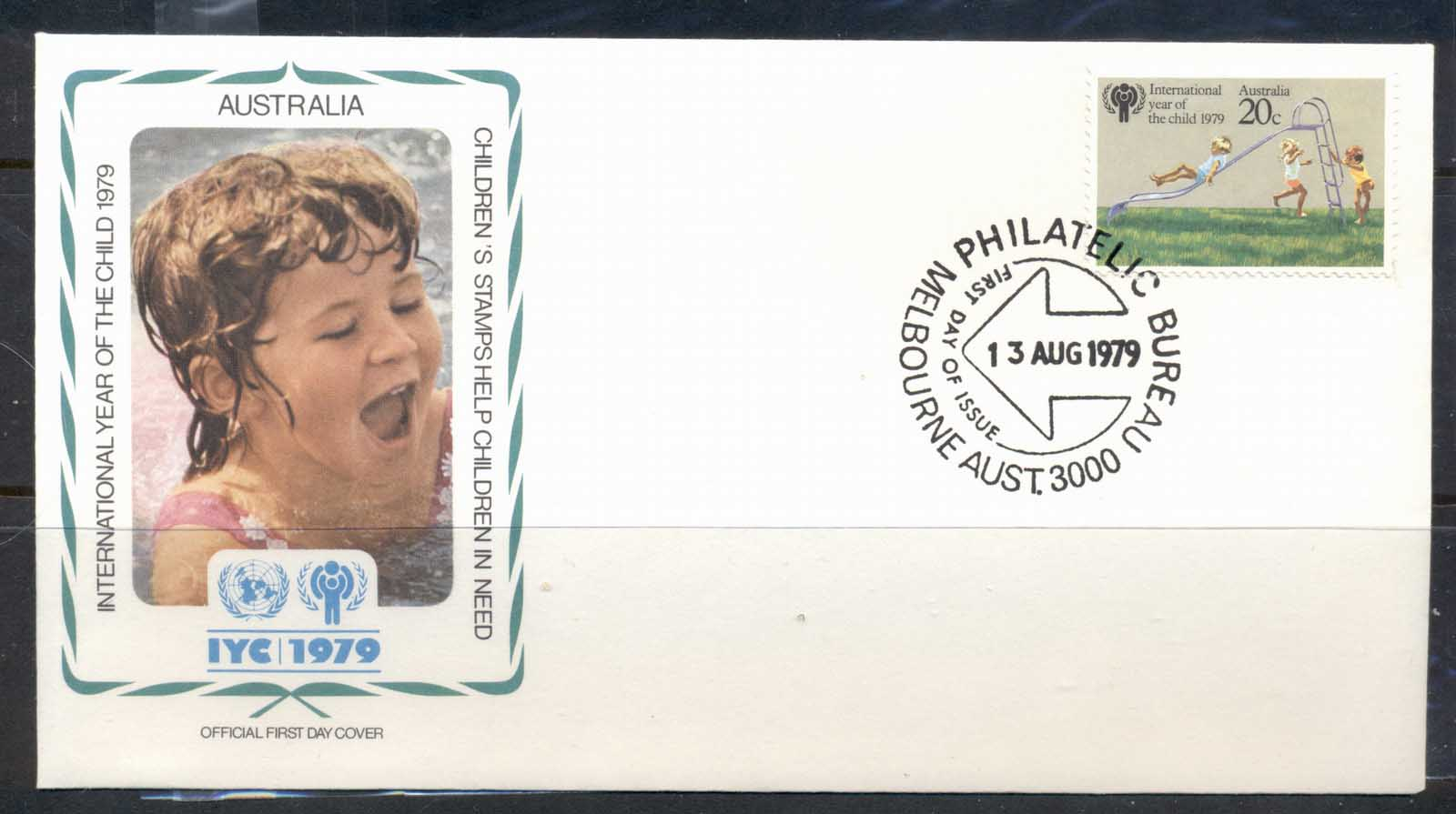 Australia 1979 IYC International year of the Child FDC