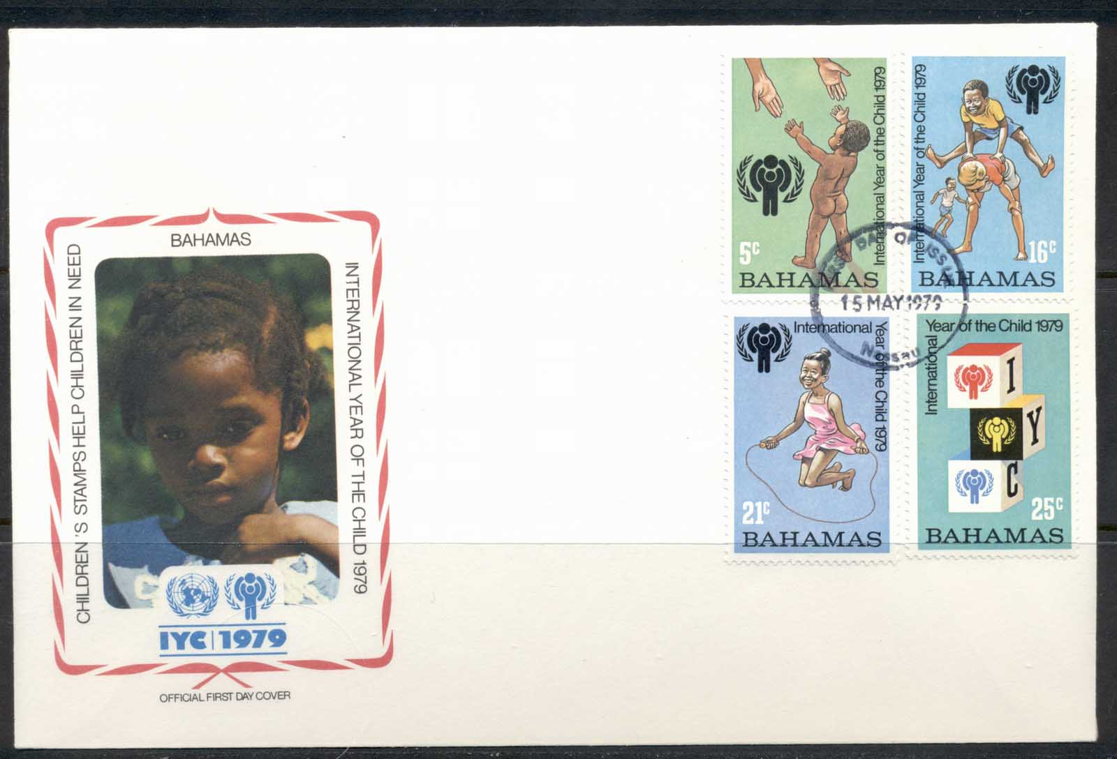 Bahamas 1979 IYC International year of the Child FDC