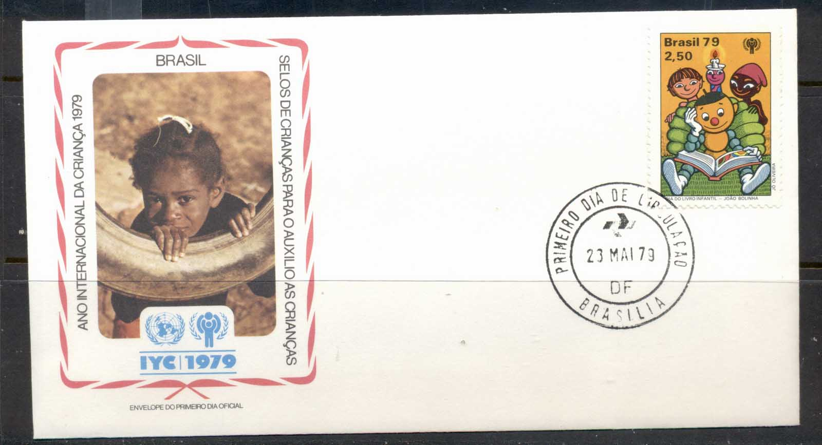 Brazil 1979 IYC International year of the Child FDC