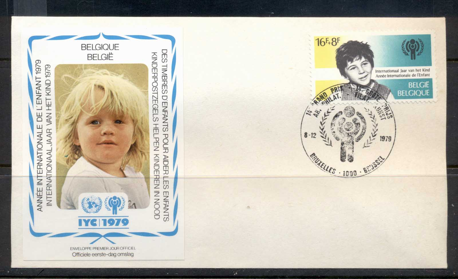 Belgium 1979 IYC International year of the Child FDC