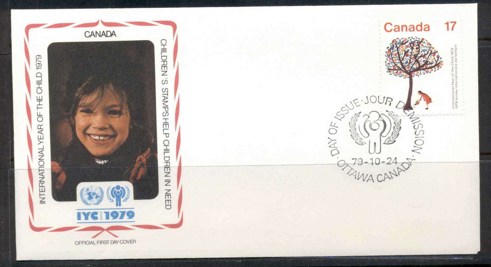 Canada 1979 IYC International year of the Child FDC