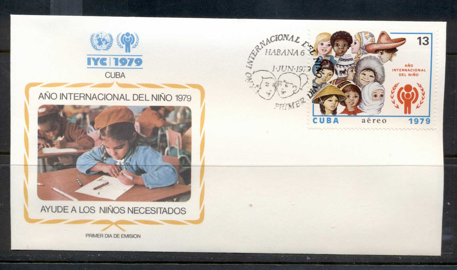 Caribbean Is 1979 IYC International year of the Child FDC