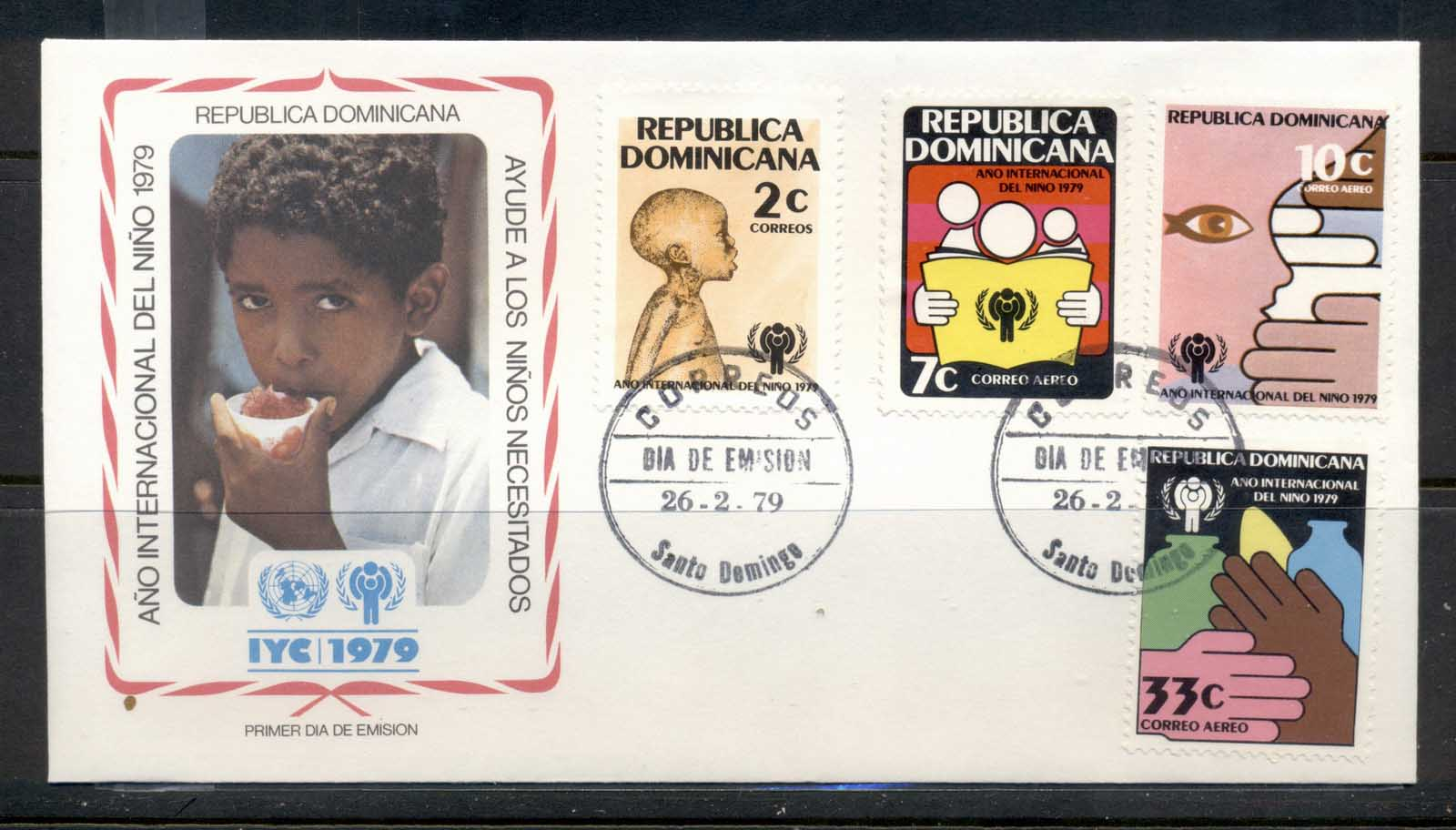 Dominican Republic 1979 IYC International year of the Child FDC