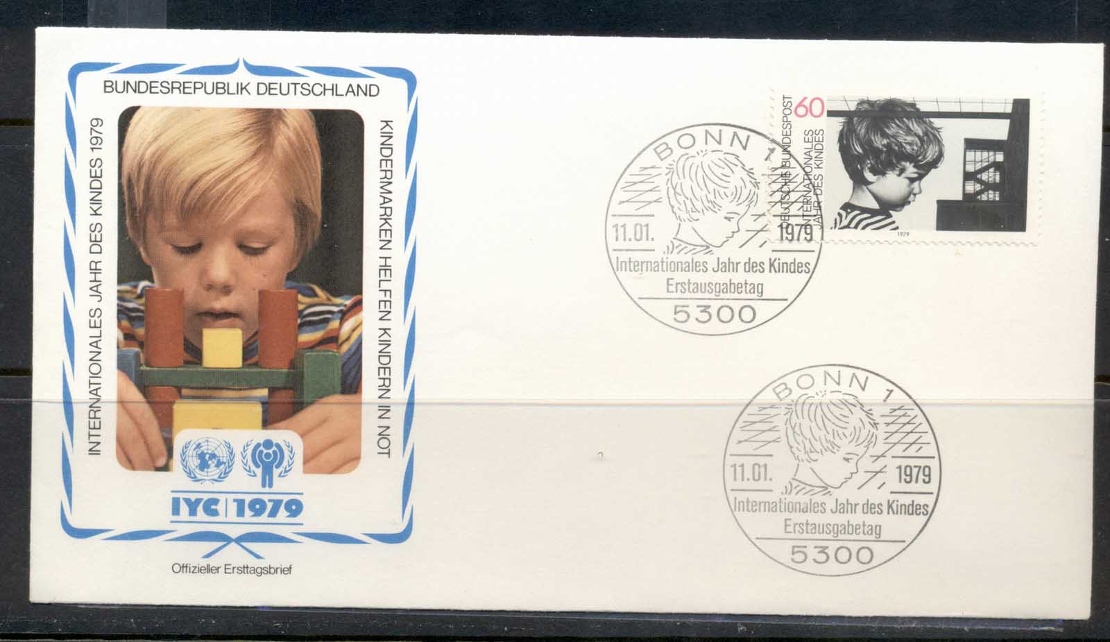 Germany 1979 IYC International year of the Child FDC