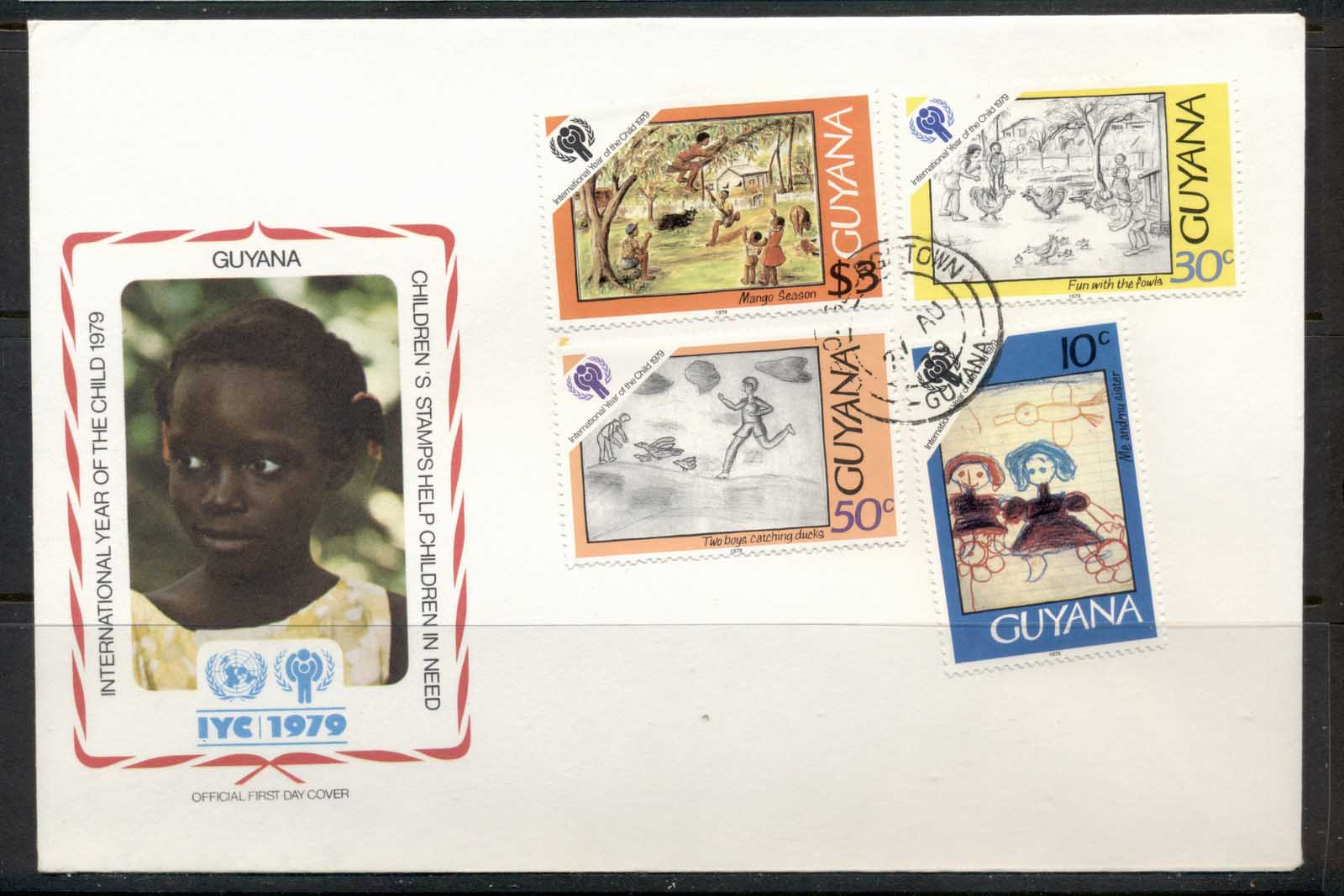 Guyana 1979 IYC International year of the Child FDC