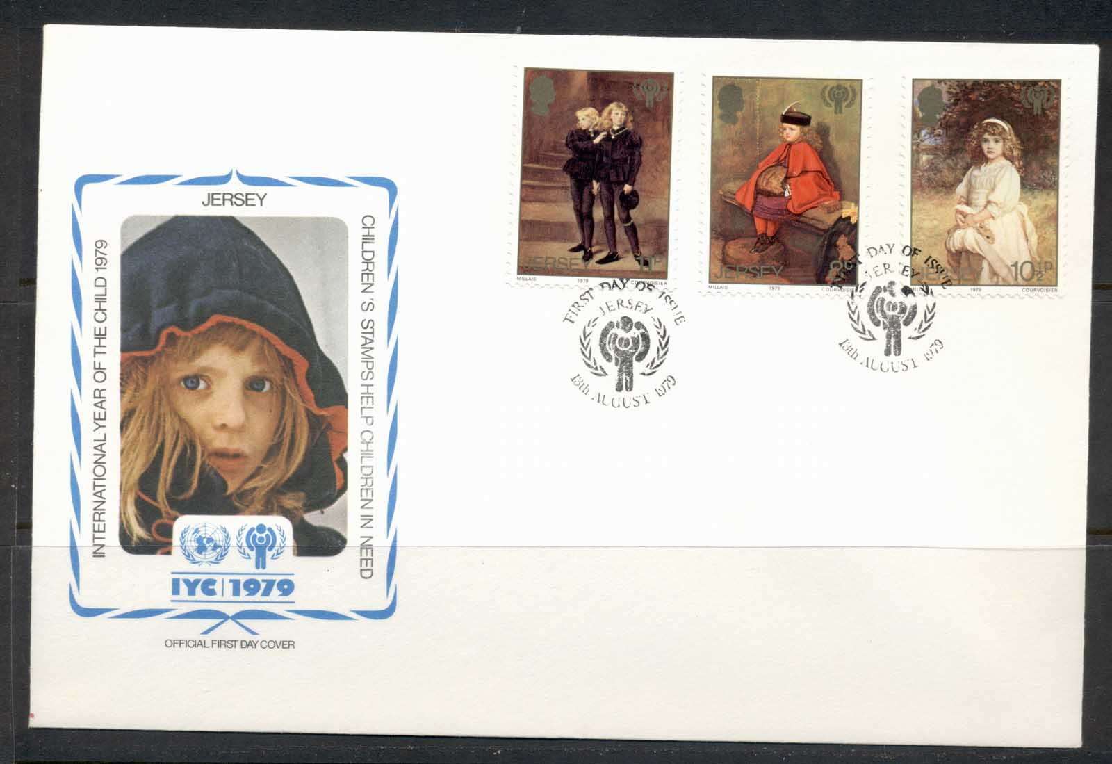 Jersey 1979 IYC International year of the Child FDC