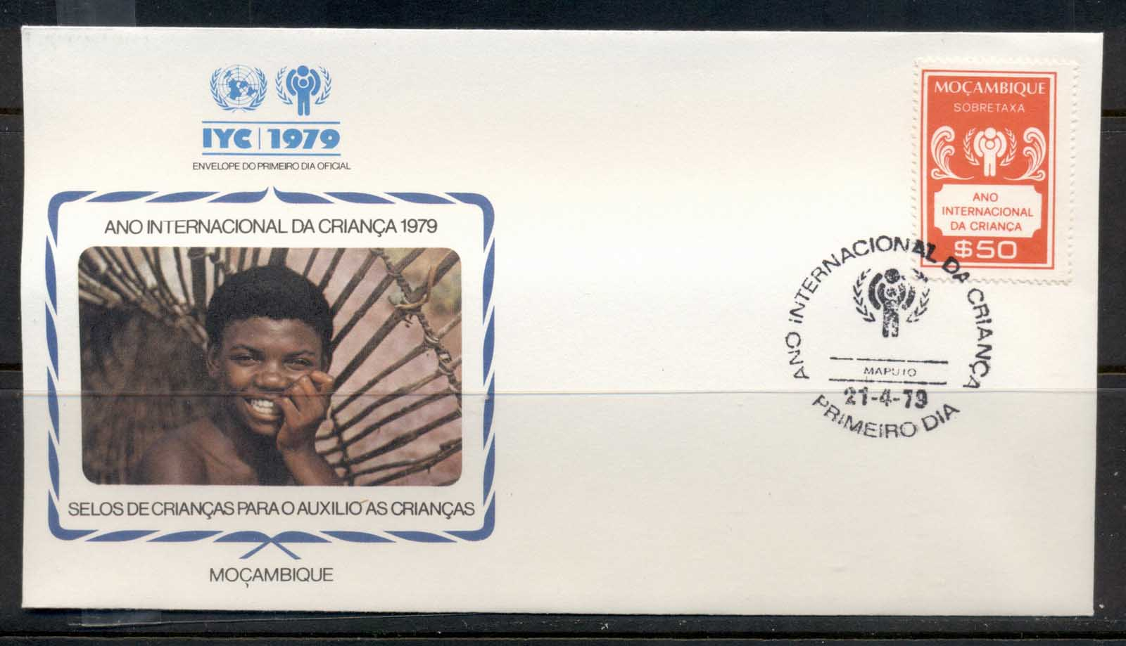 Mozambique 1979 IYC International year of the Child FDC