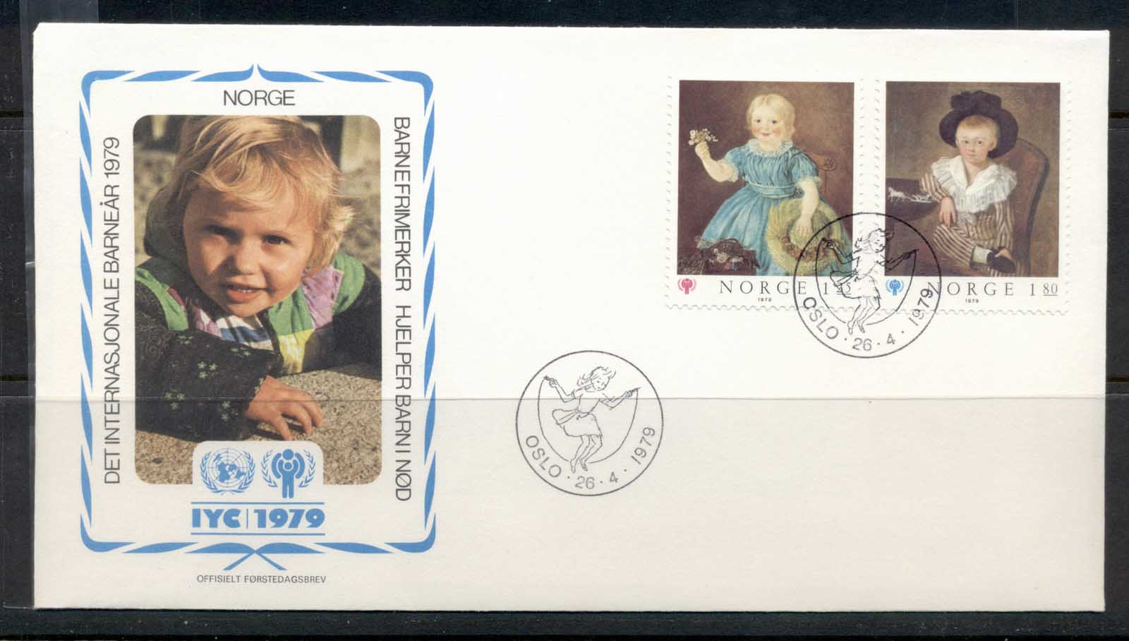 Norway 1979 IYC International year of the Child FDC