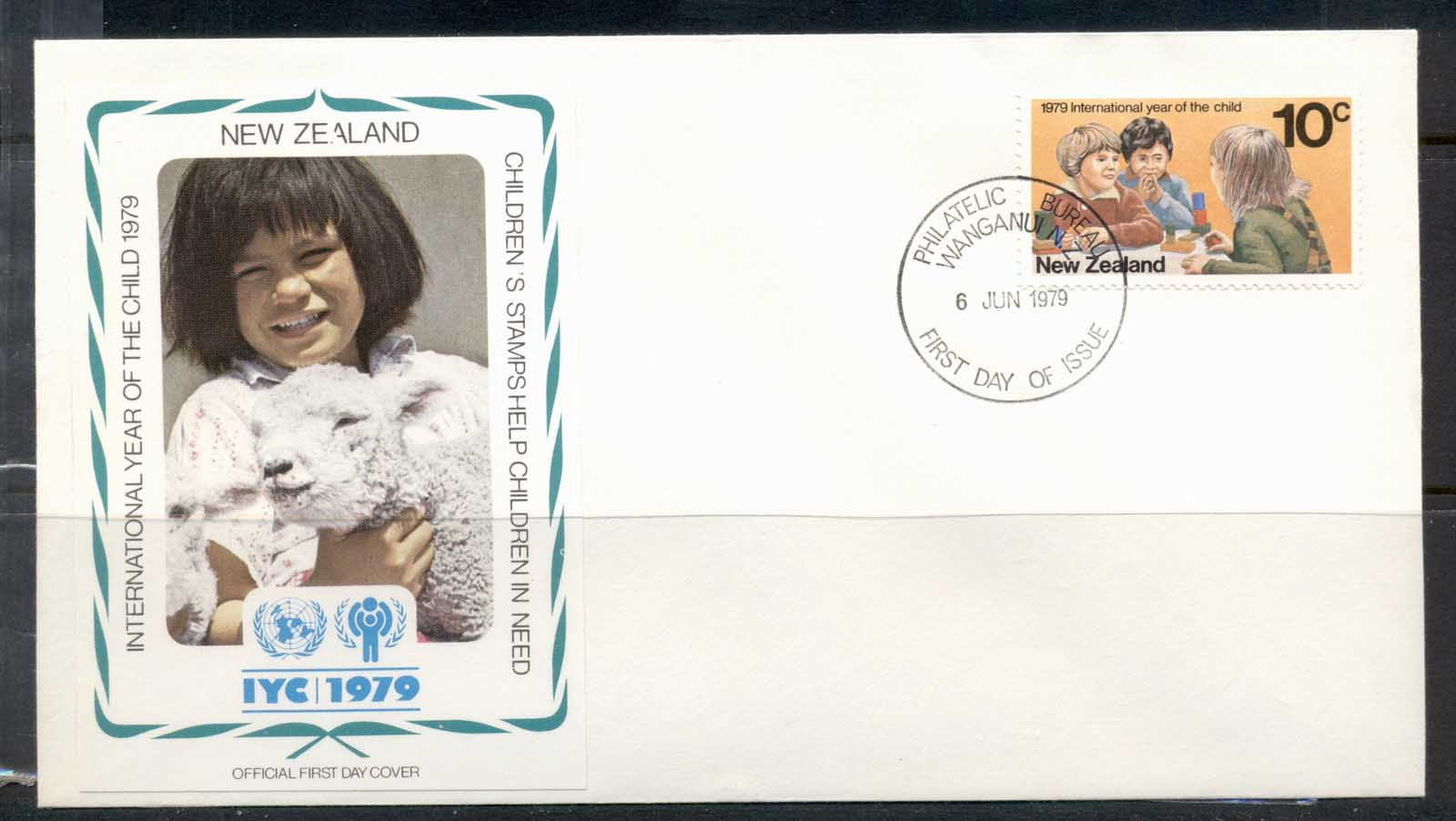 New Zealand 1979 IYC International year of the Child FDC