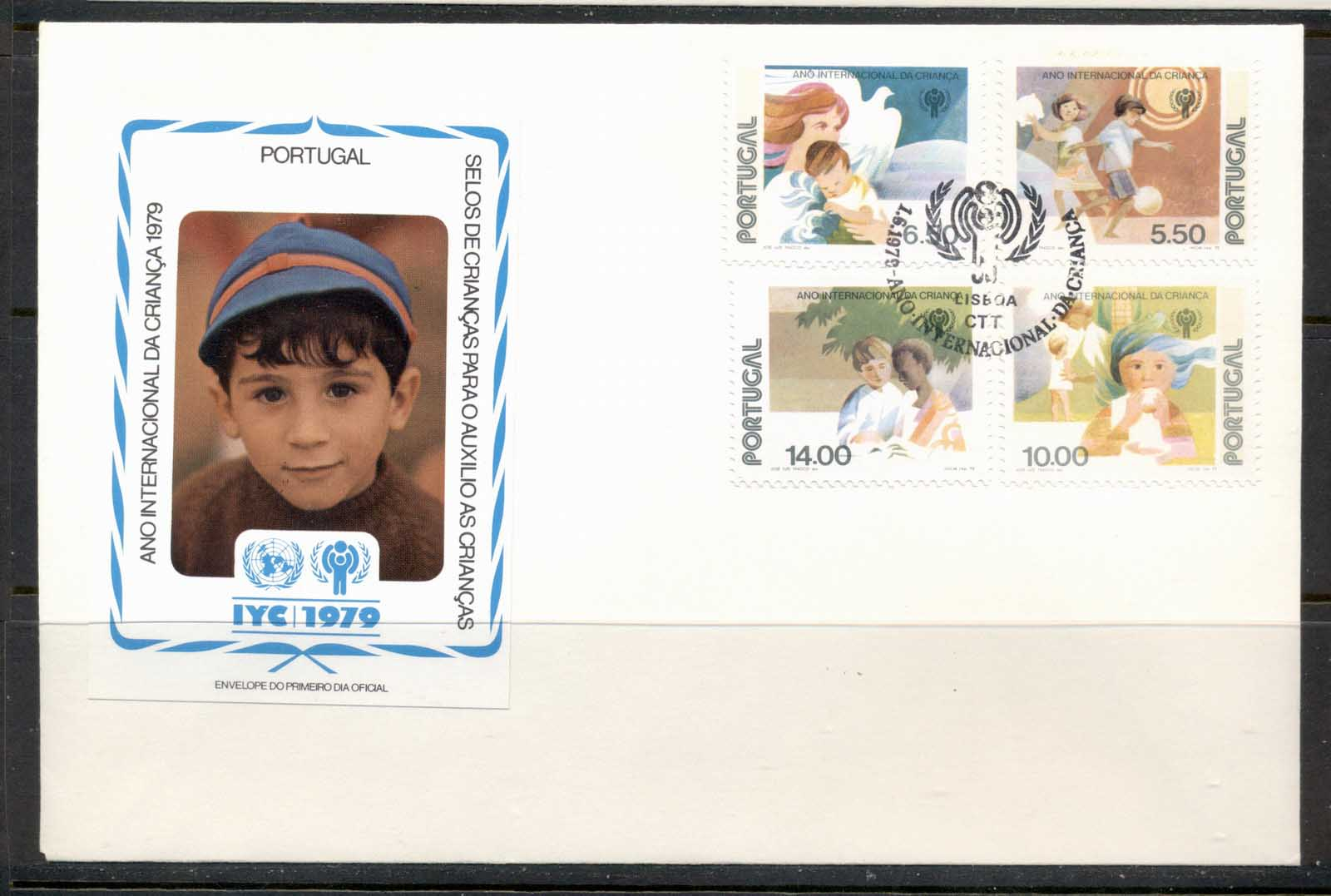 Portugal 1979 IYC International year of the Child FDC