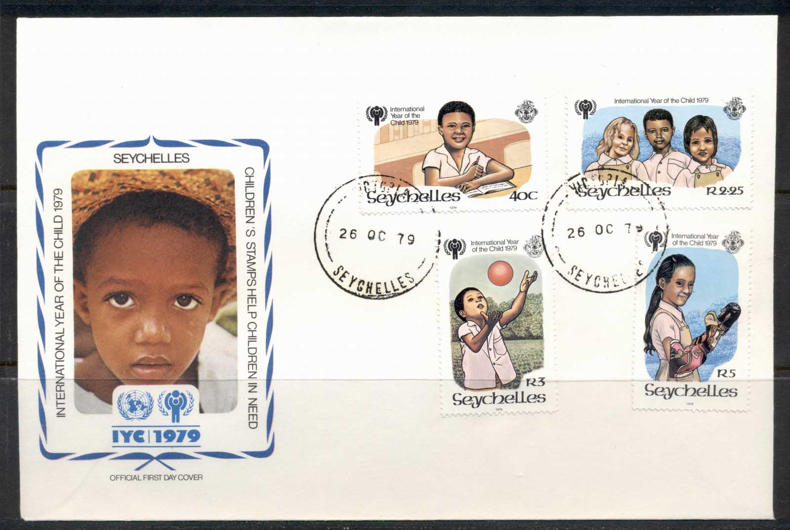 Seychelles 1979 IYC International year of the Child FDC