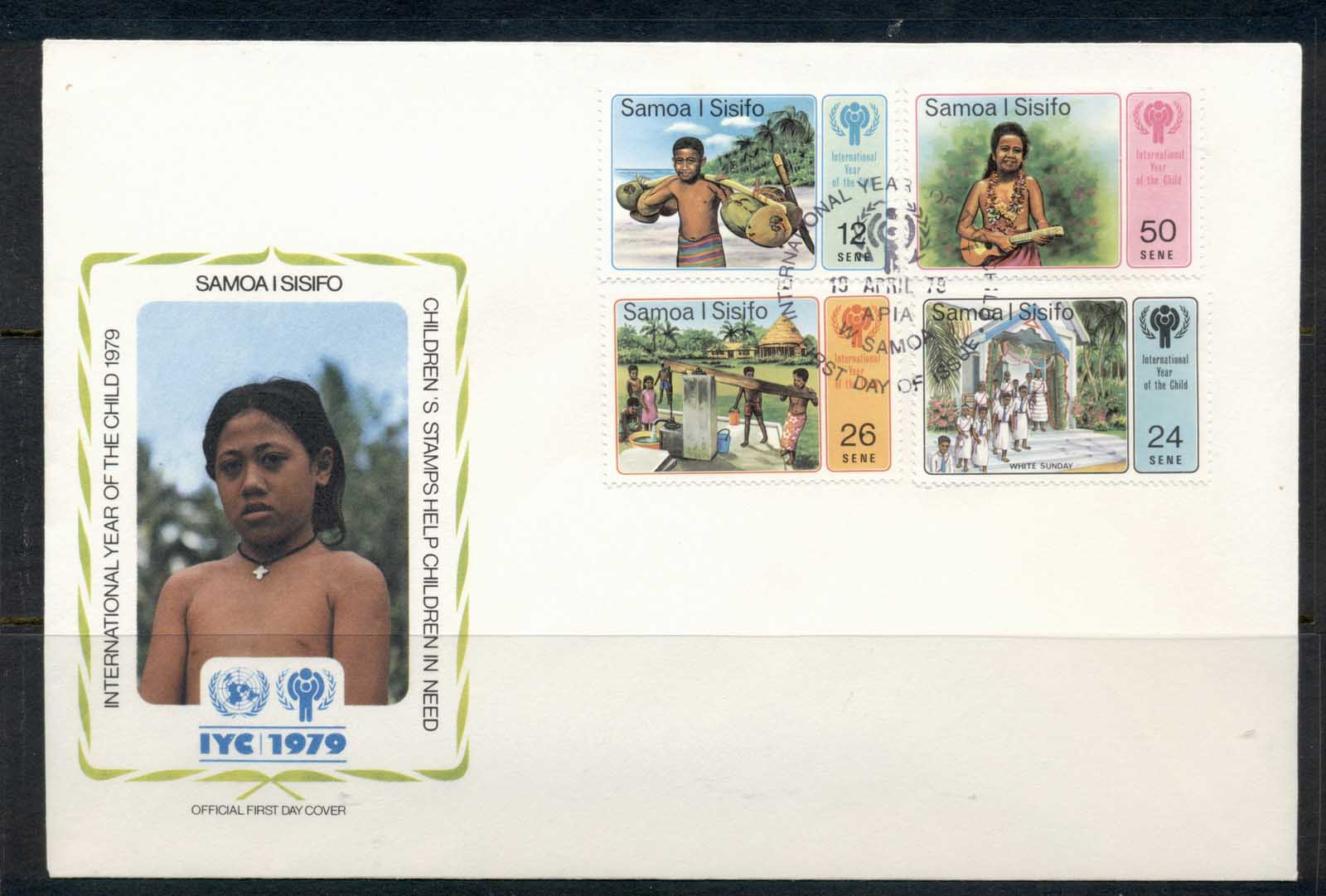 Samoa 1979 IYC International year of the Child FDC
