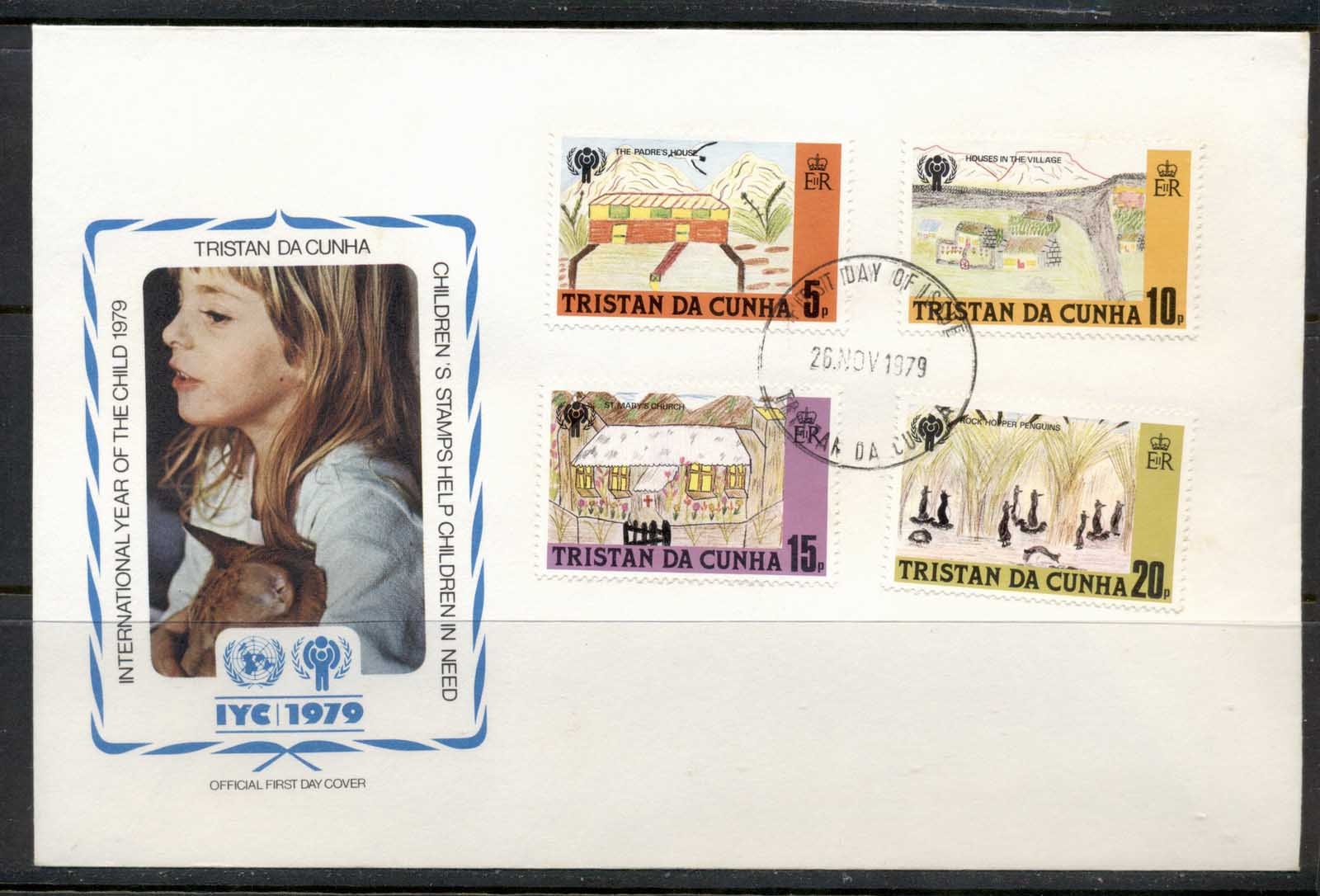 Tristan da Cunha 1979 IYC International year of the Child FDC