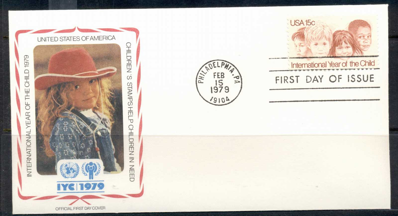 USA 1979 IYC International year of the Child FDC
