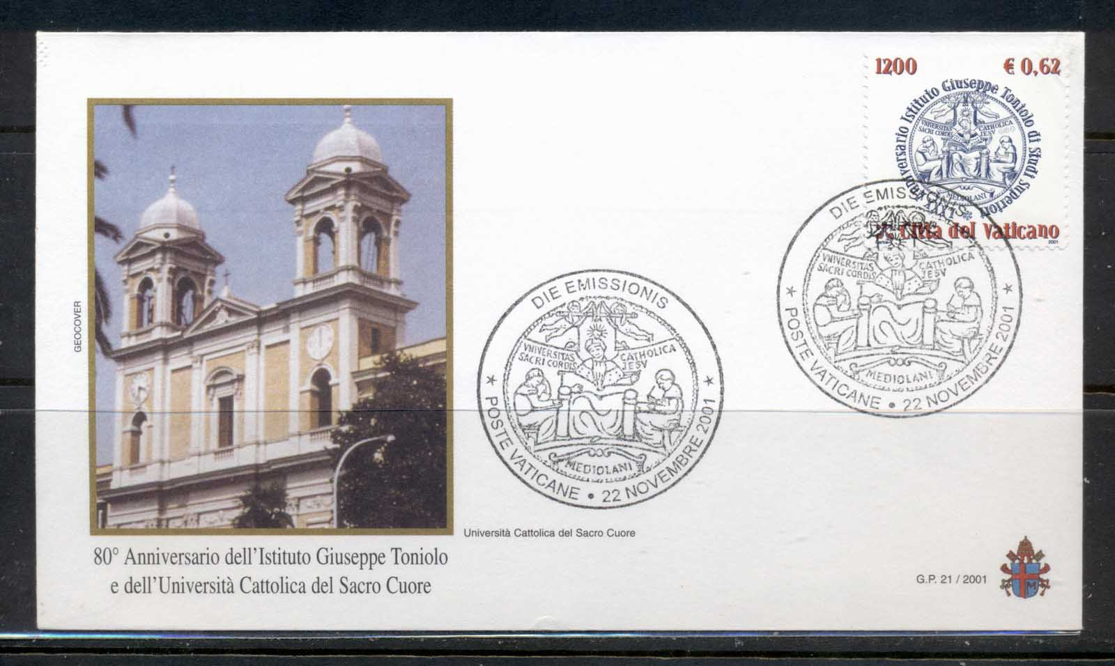 Vatican 2001 Institute for Higher Studies FDC