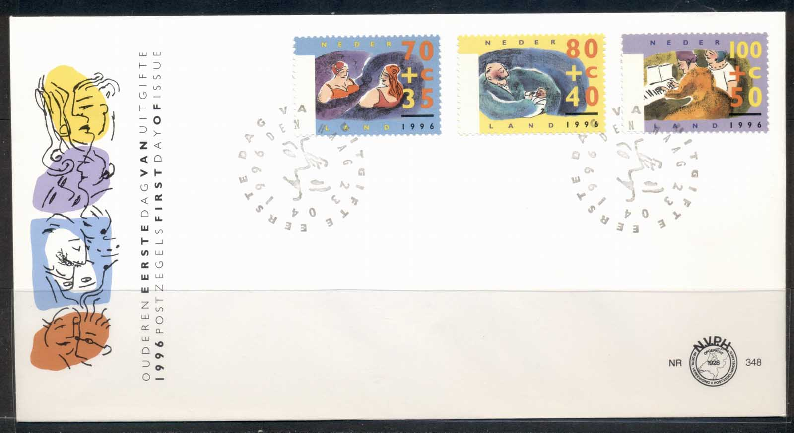 Netherlands 1996 Senior Citizens FDC