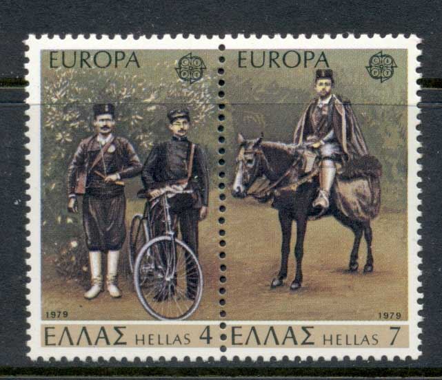 Greece 1979 Europa Rural Mailman pr MUH