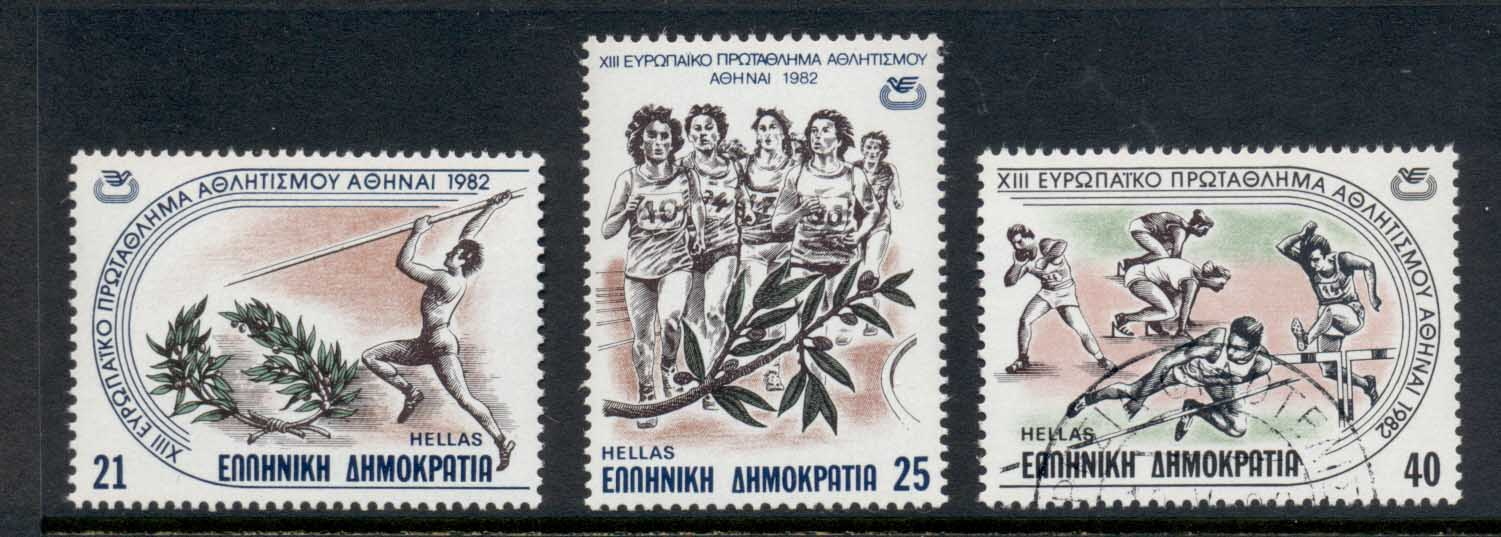 Greece 1982 European Athletic Championships MUH