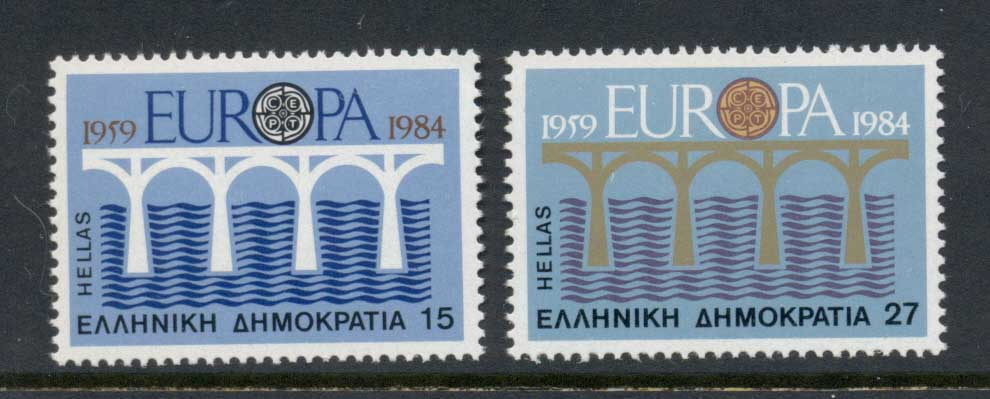 Greece 1984 Europa bridges MUH