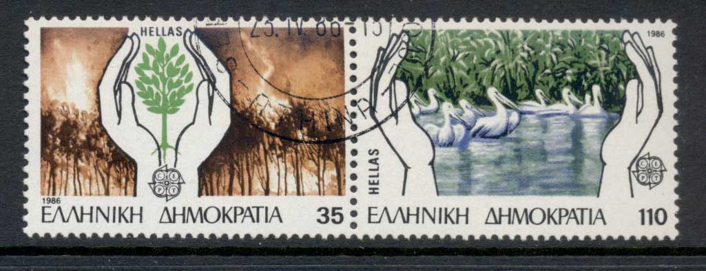 Greece 1986 Prevention of Forest Fires CTO