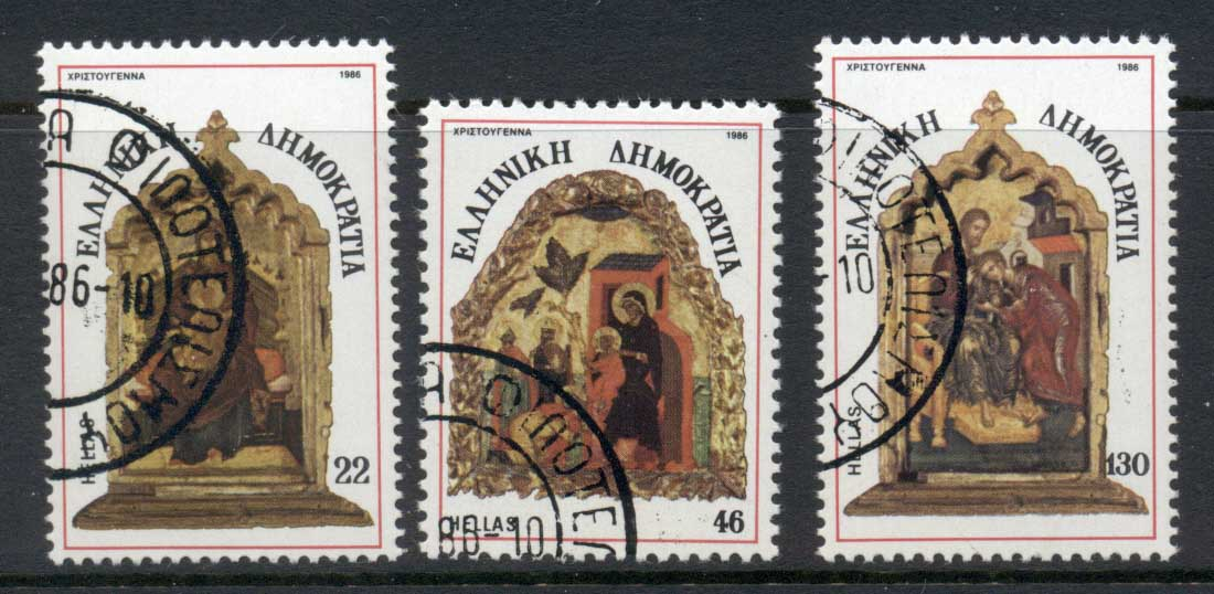 Greece 1986 Religious Art CTO