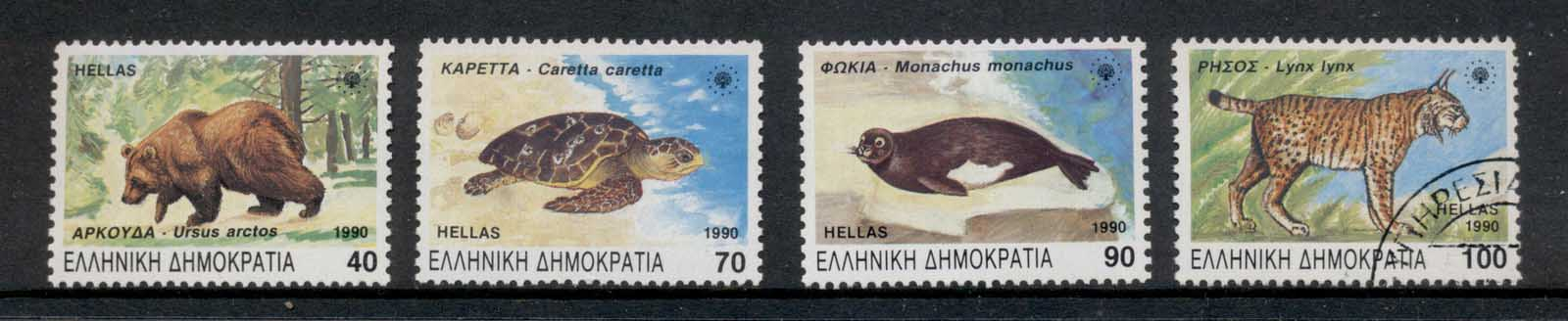 Greece 1990 Rare & Endangered Species MUH/CTO