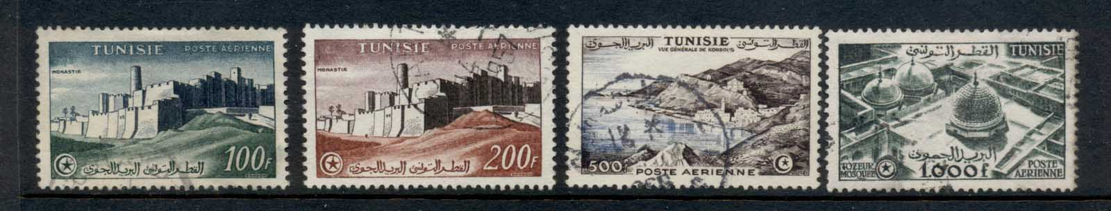 Tunisia 1956 Airmail redrawn without RF FU
