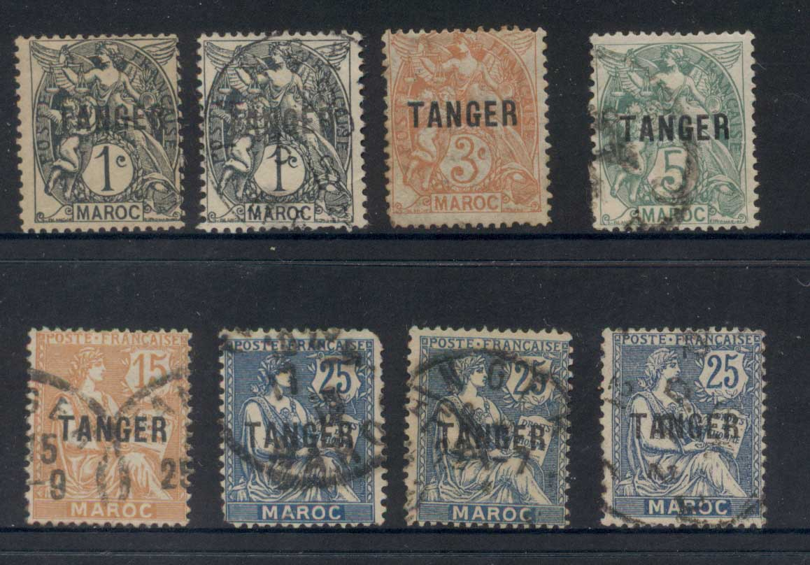 French Morocco 1918-25 Tangier Opts Asst FU