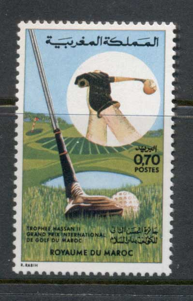Morocco 1974 Golf Grand Prix MUH