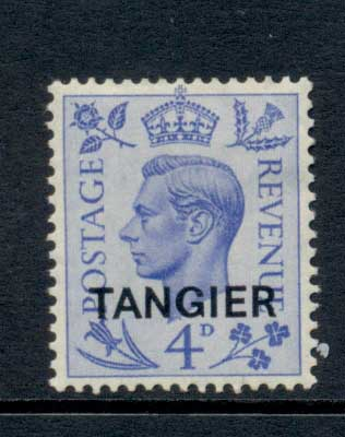 Tangier 1950-51 KGVI 4d kings head MLH