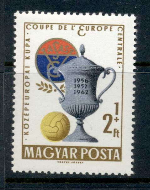Hungary 1962 Central European Soccer Championships MUH