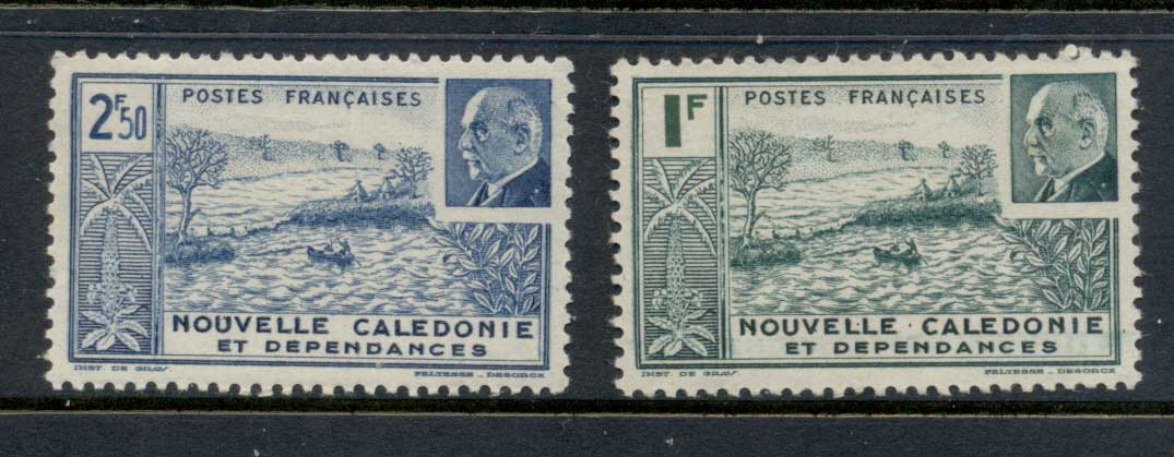 New Caledonia 1941 Petain MLH