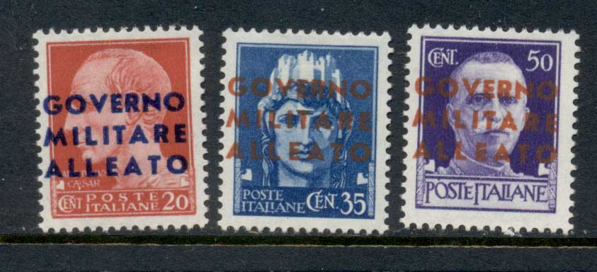Italy 1943 Allied Occupation Naples MLH