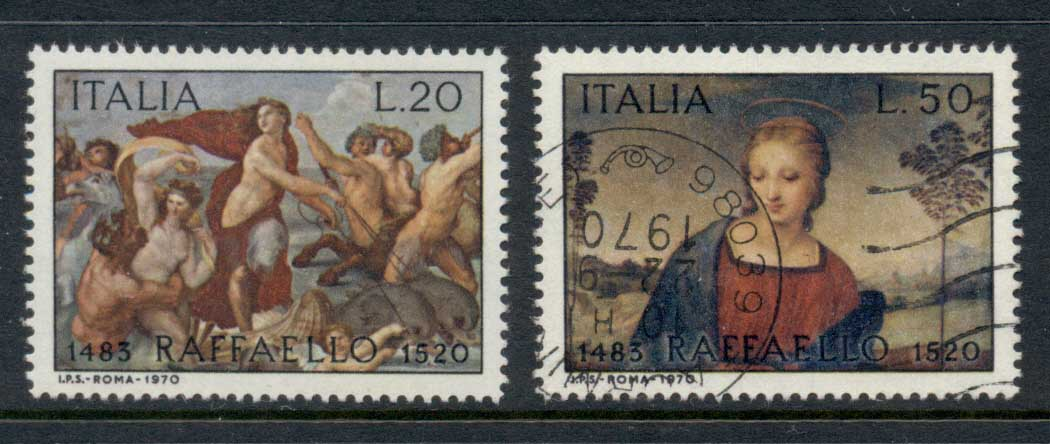 Italy 1970 Paintings MLH/FU