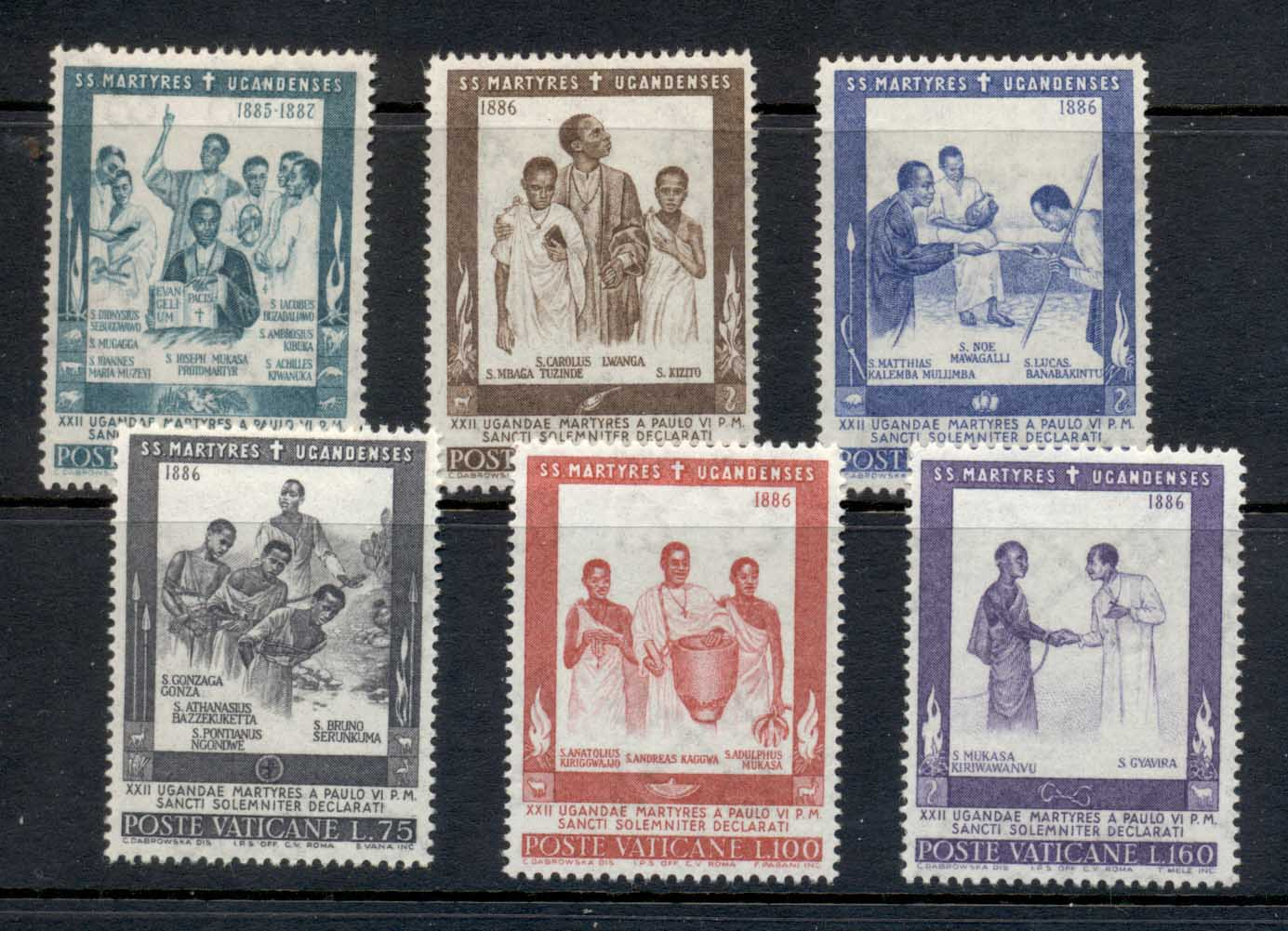 Vatican 1964 African Martyrs MLH