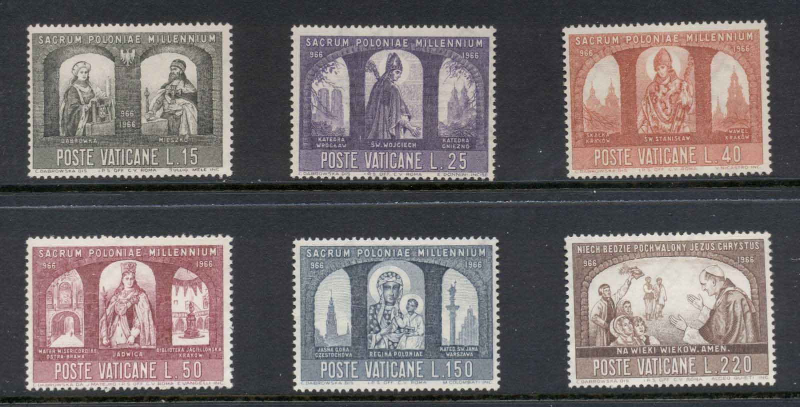 Vatican 1966 Millenium of Christianization of Poland MLH