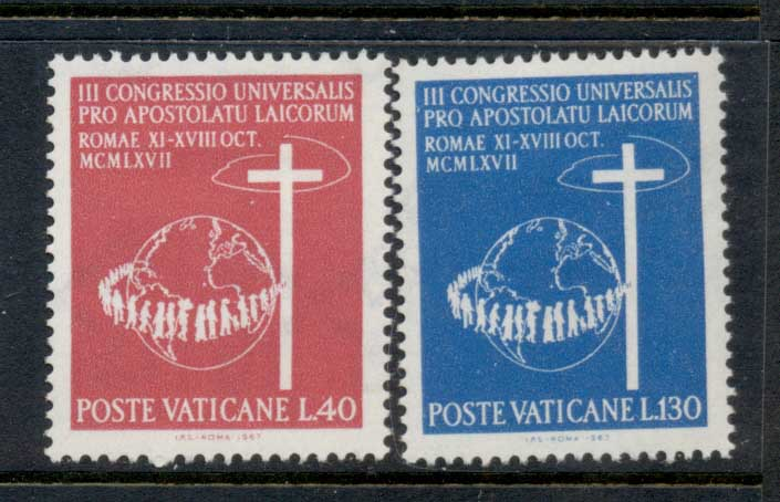 Vatican 1967 Catholic Laymen Congress MLH
