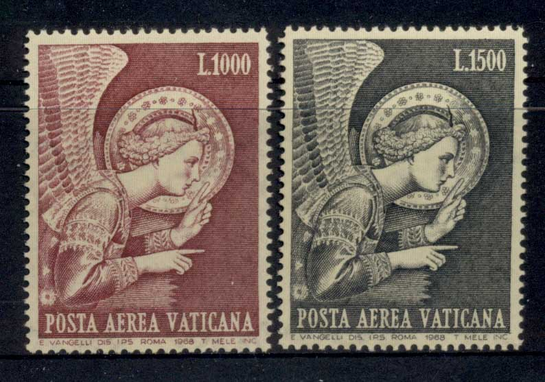 Vatican 1968 Air Mail Archangel Gabriel MLH