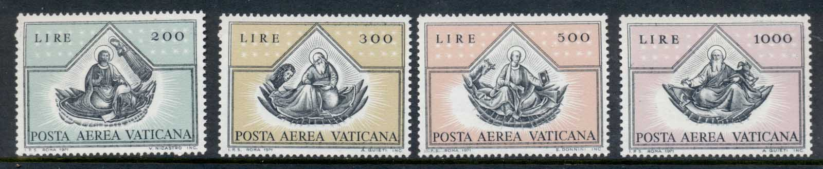 Vatican 1971 Ar Mail MLH
