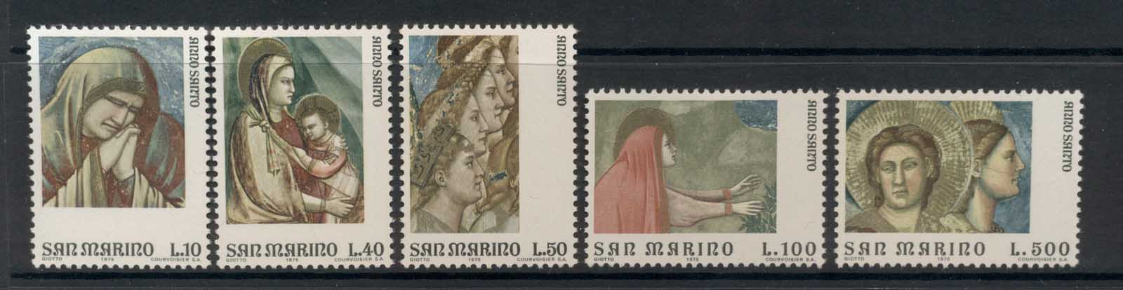 San Marino 1975 Frescoes by Giotto MLH
