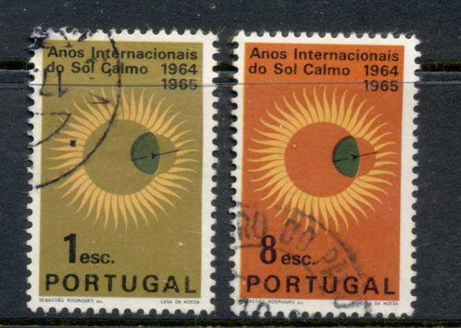 Portugal 1964 Intl. Quiet Sun year FU
