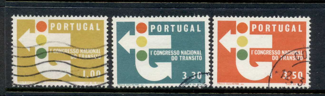 Portugal 1965 Traffic Congress FU