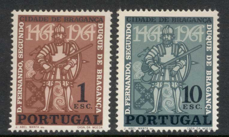 Portugal 1965 City of Braganza MLH