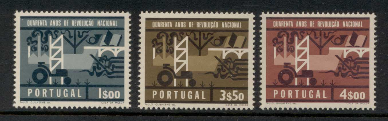 Portugal 1966 National Revolution MLH