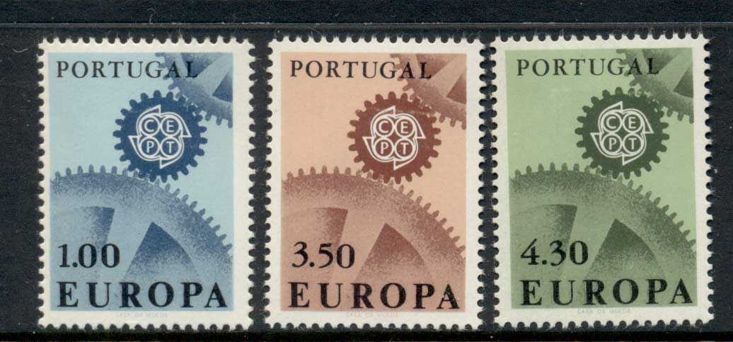 Portugal 1967 Europa MLH