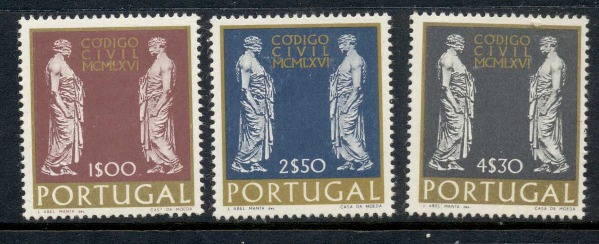 Portugal 1967 Civil Law Code MLH