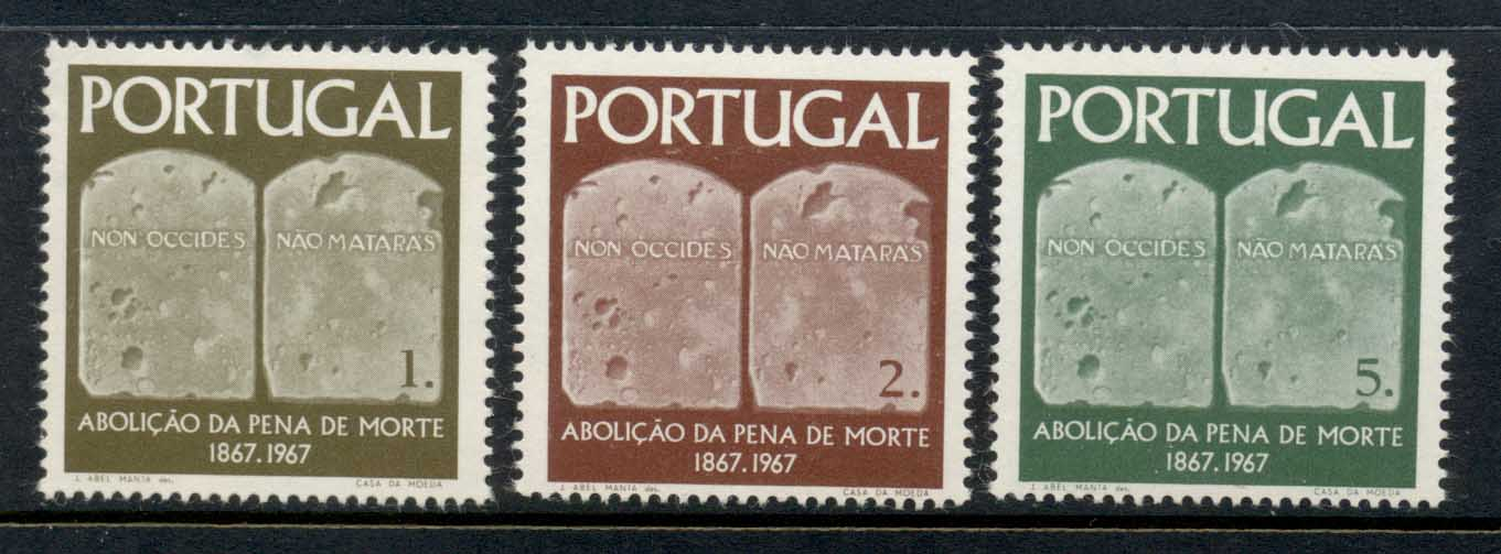 Portugal 1967 Death Penalty Abolition MLH