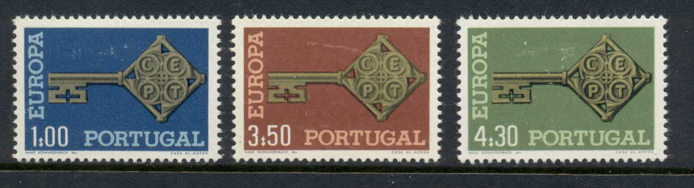 Portugal 1968 Europa MLH - Click Image to Close
