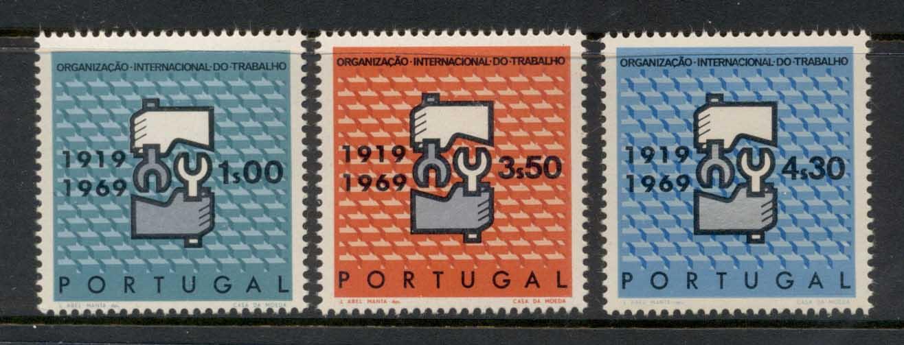 Portugal 1969 ILO 50th Anniv. MLH
